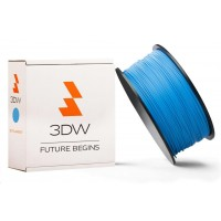 3DW - ABS filament pre 3D tlačiarne, priemer struny 2,9mm, farba modrá, váha 1kg, teplota tisku 220-250°C