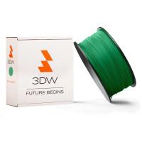 3DW - ABS filament pre 3D tlačiarne, priemer struny 2,9mm, farba zelená, váha 1kg, teplota tisku 220-250°C