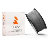 3DW - ABS filament pre 3D tlačiarne, priemer struny 2,9mm, farba strieborná, váha 1kg, teplota tisku 220-250°C