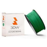 3DW - PLA filament pre 3D tlačiarne, priemer struny 1,75mm, farba zelená, váha 1kg, teplota tisku 190-210°C