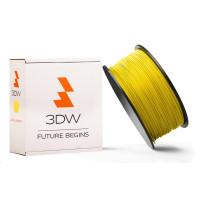 3DW - PLA filament pre 3D tlačiarne, priemer struny 2,9mm, farba žltá, váha 1kg, teplota tisku 195-225°C