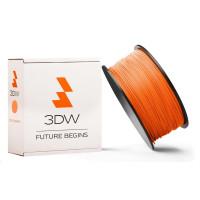 3DW - PLA  filament pre 3D tlačiarne, priemer struny 2,9mm, farba oranžová, váha 1kg, teplota tisku 195-225°C