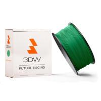 3DW - PLA  filament pre 3D tlačiarne, priemer struny 2,9mm, farba zelená, váha 1kg, teplota tisku 195-225°C