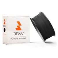 3DW - PLA  filament pre 3D tlačiarne, priemer struny 2,9mm, farba čierná, váha 1kg, teplota tisku 195-225°C