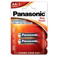 PANASONIC Alkalické baterie - Pro Power AA 1,5V balení - 2ks