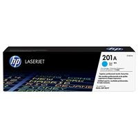 HP 201A Cyan LJ Toner Cartridge, CF401A
