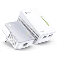 TP-Link Powerline extender TL-WPA4220 Starter Kit 300Mbps AV500 WiFi Powerline Extender Starter Kit