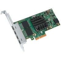 Intel I350T4V2 Server Adapter Gb Cat-5 cabling, PCIe x4 I350T4V2BLK) Full i Low p.