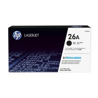 HP 26A Black LJ Toner Cart, 3100 str, CF226A