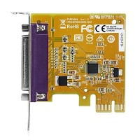 HP PCIe x1 Parallel Port Card