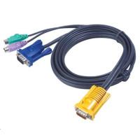 ATEN KVM sdružený kabel k CS-12xx, CS-231 PS/2, 6m
