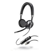 PLANTRONICS náhlavní souprava BLACKWIRE C725, USB, stereo