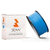 3DW - PLA  filament pre 3D tlačiarne, priemer struny 1,75mm, farba modrá, váha 0,5kg, teplota tisku 190-210°C