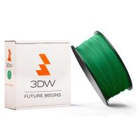 3DW - PLA  filament pre 3D tlačiarne, priemer struny 1,75mm, farba zelená, váha 0,5kg, teplota tisku 190-210°C