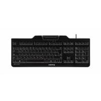 CHERRY KC 1000 SC  Klávesnice vybavená integrovanou čtečkou karet formátu ISO 7816. Připojení klávesnice přes USB kabe