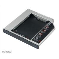 "AKASA HDD box  N.Stor D12, 2.5"" SATA HDD/SSD do pozice pro optickou mechaniku IDE (výška HDD do 13mm)"