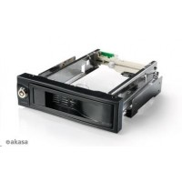 "AKASA HDD box  Lokstor M52, 1x 3,5"" SATA HDD do 5,25"" interní pozice,  černý"