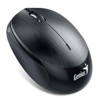 GENIUS myš NX-9000BT/ Bluetooth 4.0/ 1200 dpi/ bezdrátová/ dobíjecí baterie/ kovově šedá