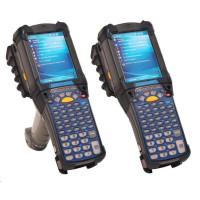 Motorola/Zebra terminál MC9200 GUN, WLAN, 1D, 512MB/2GB, 53 key, WE, BT