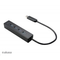 AKASA HUB USB Connect 4SX, 4x USB 3.0