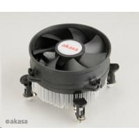 AKASA Chladič CPU AK-959CU pro Intel  LGA 775 a 115x, měděné jádro, 92mm PWM ventilátor