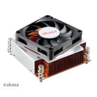 AKASA Chladič CPU AK-CC6502BT01 pro Intel LGA 2011, měděné jádro, 70mm PWM ventilátor, pro 2U skříně