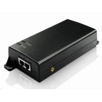 MaxLink PI60 aktivní PoE injektor - 802.3af/at+, 60W (HighPoE), napájecí kabel