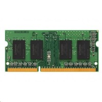 4GB 1600MHz DDR3 SODIMM Single Rank, KINGSTON Brand (KCP316SS8/4)