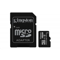 Kingston 16GB microSDHC UHS-I Class 10 Industrial Temp Card + SD Adapter