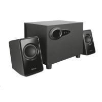 TRUST Reproduktory 2.1 Avora Subwoofer Speaker Set - black