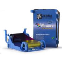 ZEBRA TTR páska YMCKO, farebná farbiaca páska pre Zebra P1xx