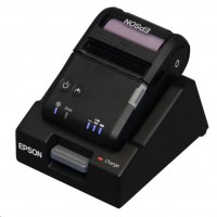 EPSON TM-P20 mobilní tiskárna 58mm, BT, základna, černá,odthovací lišta, se zdrojem