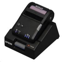 EPSON TM-P20 mobilní tiskárna 58mm, Wifi, základna, černá,odthovací lišta, se zdrojem