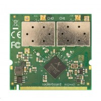 MikroTik R52HnD mini-PCI karta, high power 400mW, dual band 2.4/5GHz 802.11a/b/g/n, 2x MMCX