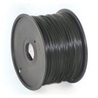 GEMBIRD Tisková struna (filament) PLA, 1,75mm, 1kg, černá