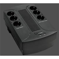 EUROCASE UPS EA200PLUS EVO2 850VA line interactive, 4x CZ zásuvka, RJ11, USB data