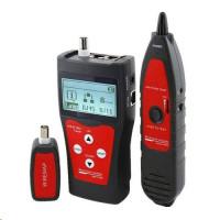 LAN Cable Tester TLCD76 s LCD, měření STP, PSTN, Coax, USB, délka vedení + sonda