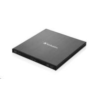 VERBATIM Mobile Blu-ray Rewriter USB 3.0 mechanika Zdarma BR Disc 25GB (CD DVD BD Mdisc)