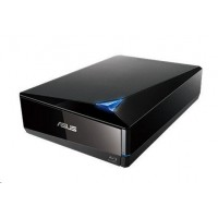 ASUS BLU-RAY Writer BW-12D1S-U, External, black, USB 3.0, (Software)