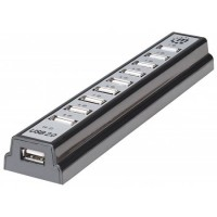 MANHATTAN Hi-Speed USB 2.0 Desktop Hub, 10 portů