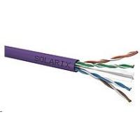 Instalační kabel Solarix UTP, Cat6, drát, LSOH, cívka 500m