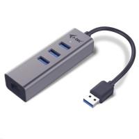 iTec USB 3.0 Metal HUB 3 Port + Gigabit Ethernet Adapter
