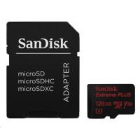 SanDisk Extreme Plus microSDXC 128 GB 100 MB/s Class 10 UHS-I V30