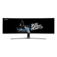 """Samsung MT LCD 49"""" C49HG90 - prohnutý, VA, 3840x1080, 32:9, 144Hz, Quantum dot, HDR, 2xHDMI, 2xdisplay port, 1 ms"""