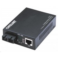 Intellinet Ethernet konvertor, 100Base-TX (RJ45) na 100Base-FX (SC) multimode, 2km