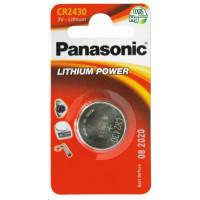 PANASONIC Mincové (knoflíkové) baterie - lithiové CR-2430EL/1B  3V 1ks