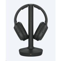 SONY bezdrátový RF sluchátkový stereo systém MDRRF895RK, černá