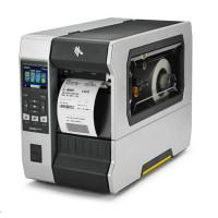 """ZebraTT průmyslová tiskárna ZT610, 4"""", 300 dpi, RS232, USB, Gigabit LAN, Bluetooth 4.0, USB Host, řezačka, Color, ZPL"""