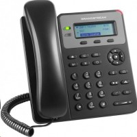 Grandstream GXP1615 [VoIP telefon - 1x SIP účet, HD audio, 3 program.tlačítka, switch 2xLAN 10/100Mbps, PoE]