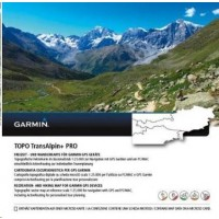 Garmin - Turist. mapa Alpy a Rakousko, Topo TransAlpine+ PRO, microSD/SD